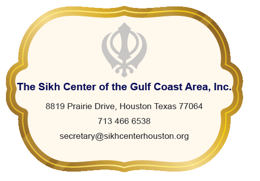 Sikh Center Contact